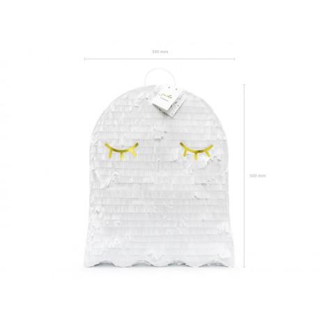 Piniata - Duch, biały, 41,5x50x10cm