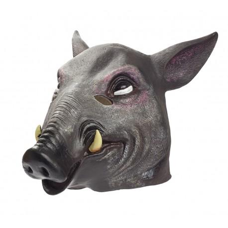 Maska lateksowa DZIKA