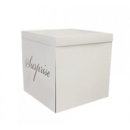 Pudełko box Surprise white 50x50x50cm