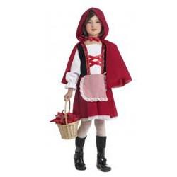 Zestaw Czerwony Kapturek: spódnica, peleryna, kosz