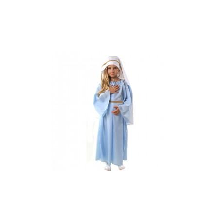 """Strój """"Maryja""""błękitna suk. 130/140"""