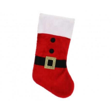 Skarpeta świąteczna pluszowa, rozm. 47 cm