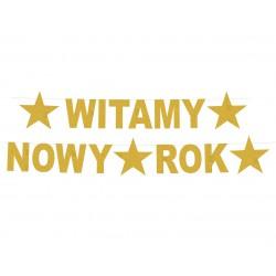 Girlanda Witamy Nowy Rok, rozm. 22 x 390 cm