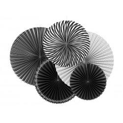 Rozety dekoracyjne Black&White, mix