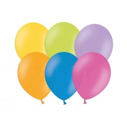Balony Pastel mix 100szt