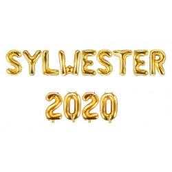 Balony SYLWESTER 2020 35cm