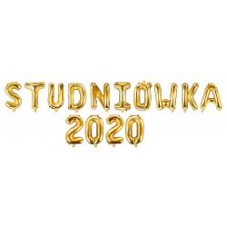 Balony litery STUDNIÓWKA 2020 - 35cm