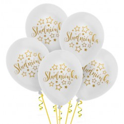 Balon Studniówka biały