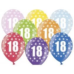 "Balon 14"" na 18 urodziny"
