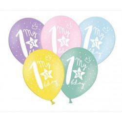 Balony 30cm, My 1st bday