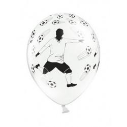 """Balon 14"""", Piłkarz i piłki, Pastel White"""