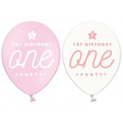 Balony 30cm, One, Pastel Baby Pink