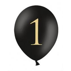 Balon 30cm, 1, Pastel Black