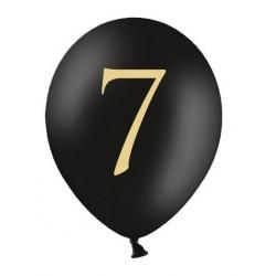 Balony 30cm, 7, Pastel Black