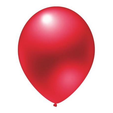 Balon 14'', Metallic Cherry Red, 1szt