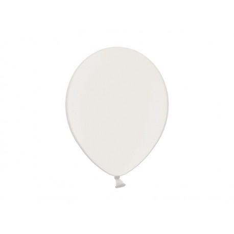 Balon 10'', Pastel White, biały 1szt