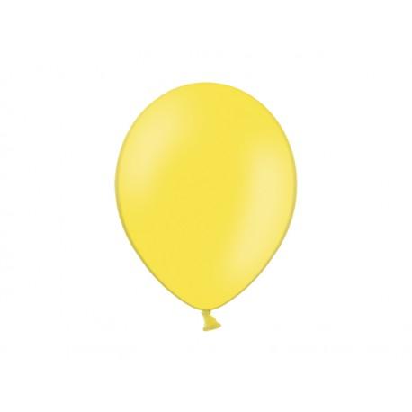 Balon 10'', Pastel Yellow, żółty 1szt