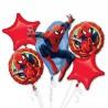 Zestaw balonów spiderman 5 szt