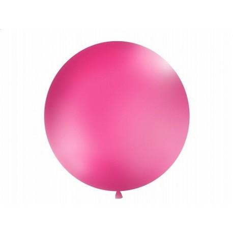Balon metrowy, 1m, fuksja