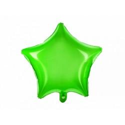 """Balon foliowy 18"""" """"Gwiazda zielony"""""""