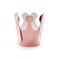 Korona Party różowe złoto 6cm 1szt