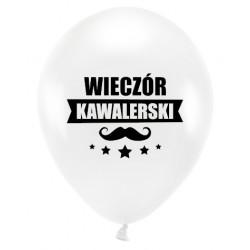 Balon Wieczór Kawalerski biały 1szt
