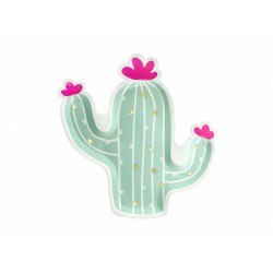 Talerzyk Kaktus, mix, 23x24cm