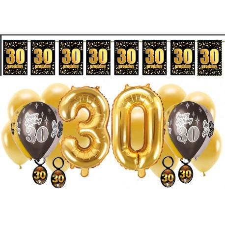 Dekoracje na 30 urodziny