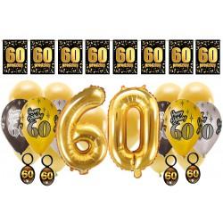Dekoracje na 60 urodziny