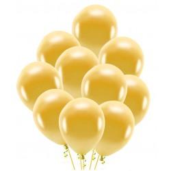 Balony złote 30cm 10szt