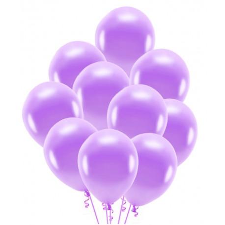 Balony lawendowe 30cm 10szt