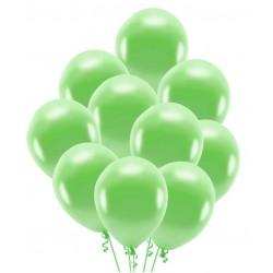Balony zielone 30cm 10szt