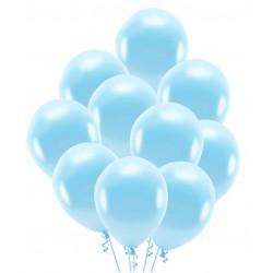 Balony jasny niebieski 30cm 10szt