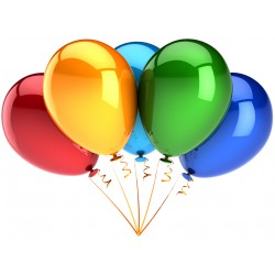 "Hel do balona gumowego 14"", 30cm"