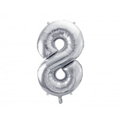 Hel do balona foliowego w kształcie cyfry ok 1m