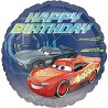 "Balon foliowy 18"" Cars Happy Birthday"
