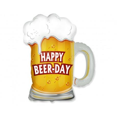 Balon foliowy 24 cale Kufel Happy Beer-Day