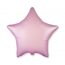 Balon foliowy 18 cali  Gwiazda satynowy pastel liliowy