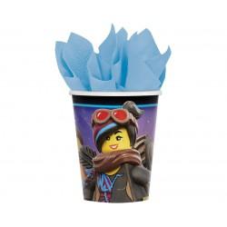 Kubeczki papierowe Lego Movie 2 266 ml, 8 szt.