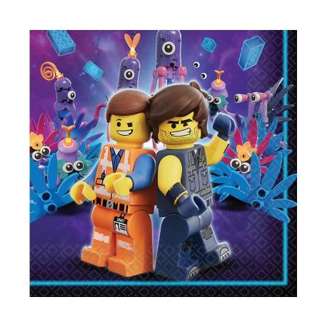 Serwetki papierowe Lego Movie 2 33x33 cm, 16 szt.