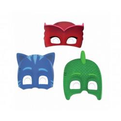 Maski papierowe PJ MASKS, 6 szt.