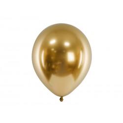 Balon chromowany 30cm, złoty