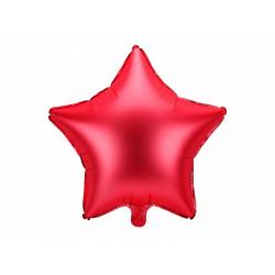 Balon foliowy Gwiazdka 48cm czerwony