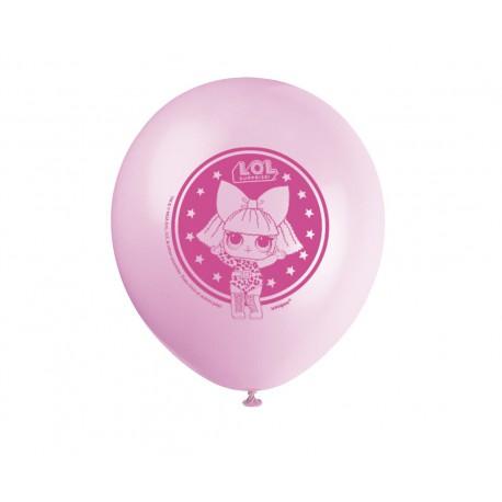 Zestaw balonów LOL SURPRISE, 8 szt.