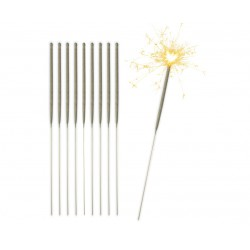Zimne OGNIE sztuczne fajerwerki 25 cm/ 10 szt.