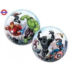 "Balon foliowy 22""QL Bubble Marvel's Avengers"