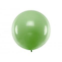 Balon okragły 1m, Pastel Green