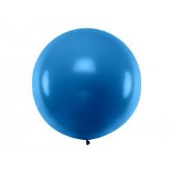 Balon okrągły 1m, Pastel Navy Blue