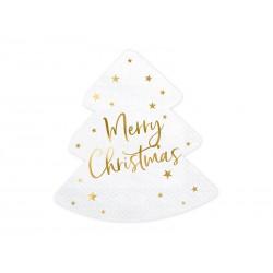 Serwetki Choinka - Merry Christmas 16x16,5cm