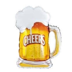 Balon foliowy kufel piwa Cheers
